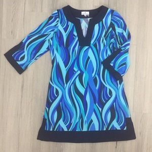 Jude Connally Dresses - NWOT Jude Connally Dress, Blues, Aquas, Sz M